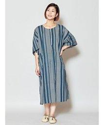 CAYHANE/【チャイハネ】yul バック刺繍マルチボーダーワンピース IDS-0421/503146293
