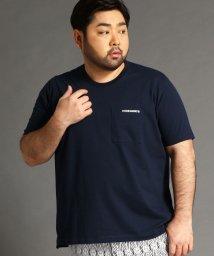 HIDEAWAYS NICOLE L/<大きいサイズ>ロゴプリントTシャツ/503147276