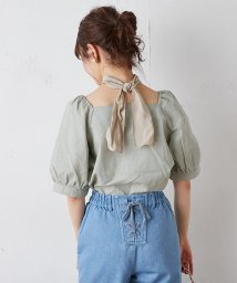 NICE CLAUP OUTLET/スカーフ付ブラウス/503159958