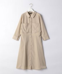 THE STATION STORE UNITED ARROWS LTD./<closet story>□2ポケット シャツワンピース -手洗い可能-/503161343