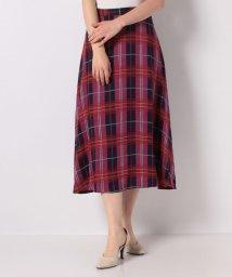 Spick & Span/チェックAラインスカート/503177578