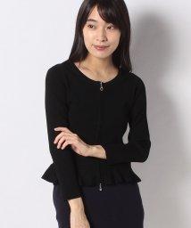 MISS J/【洗える】ハノン リブカーディガン/503190287