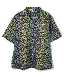GARDEN/My Town Wear/マイタウンウェアー/LEOPARD SS SHIRTS/レオパードショートスリーブシャツ/503193892
