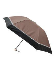 ROPE PICNIC PASSAGE/【晴雨兼用】ミニ遮光バードケージバイカラーパイソンパラソル/503194249