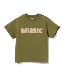 こどもビームス/GROOVY COLORS / MUSIC BIG Tシャツ 20(90~120cm)/503195011