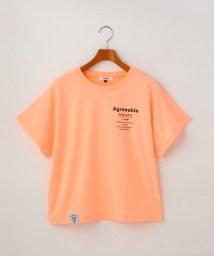 PINK-latte/バックタイダイBIGロゴTシャツ/503195630