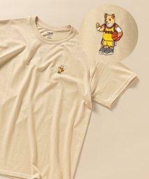 SHIPS MEN/SC: SPORTS DOG ロゴ ワッペン Tシャツ/503195695