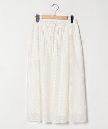 Theory Luxe/【セットアップ対応商品】スカート SUMMER FLOWER EYELET VALE/502982291