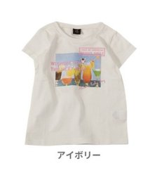 AIMABLE/ドリンク×ロゴ半袖Tシャツ         /503088430