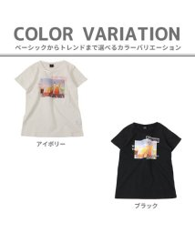 AIMABLE/ドリンク×ロゴ半袖Tシャツ         /503088431