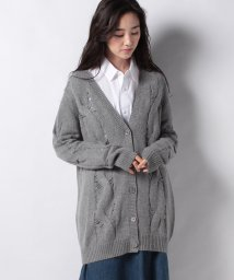 AG Jeans/SANDRINE CARDIGAN PEBBLE GREY   /503113731