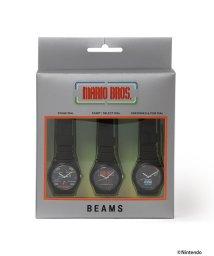 BEAMS MEN/ALBA × BEAMS / 別注 マリオブラザーズ 3針ウオッチ 3本セット/503134829