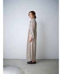 CIEL AIR/デザインスリーブロングシャツワンピース/503190174