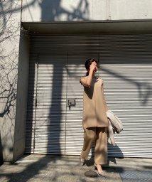 CIEL AIR/サイドスリットノースリーブチュニック/503190178
