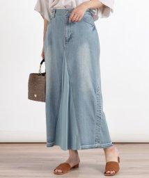 LASUD/[soeur7] リメイク風デザインデニムスカート/503194730