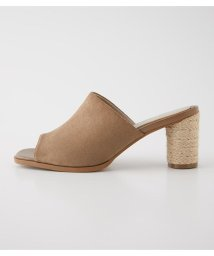 AZUL by moussy/JUTE ROUND HEEL SANDALS/503195963