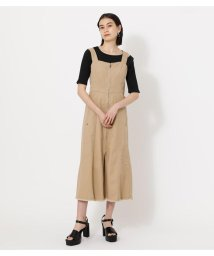 AZUL by moussy/ZIP UP JUMPER DRESS/503195970