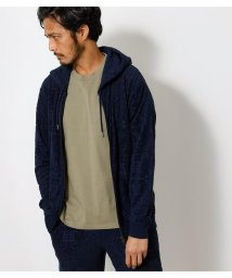 AZUL by moussy/PILE JACQUARD PARKA/503195973