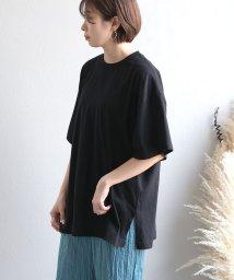 ANDJ/オーガニックコットンオーバーサイズ Tシャツ/503197010