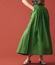 TOMORROWLAND collection/スムースリネン タックマキシスカート/503197532