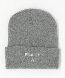 BEAUTY&YOUTH UNITED ARROWS/BY B&Y ロゴ ワッチキャップ/502991345