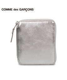 COMMEdesGARCONS/コムデギャルソン COMME des GARCONS 財布 二つ折り メンズ レディース ラウンドファスナー 本革 GOLD AND SILVER WALLET/503008248
