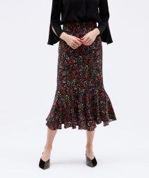 LOVELESS WOMEN/ヴィンテージ フラワー マーメイドスカート/503082555