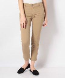 AG Jeans/SLIM KHAKI CROP COLONIAL BEIGE/503113538