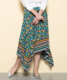 EPOCA THE SHOP/【Diane von Furstenberg】ガーデンプリントアシンメトリースカート/503171622