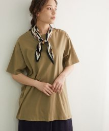ROPE' PICNIC/シルケットバックツイストチュニックTシャツ/503174768