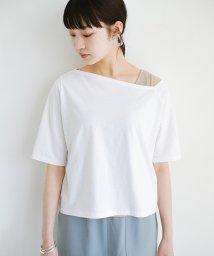haco!/気になっていたあのデザインを取り入れやすく!こなれ衿Tシャツとタンクトップのセット/503180670