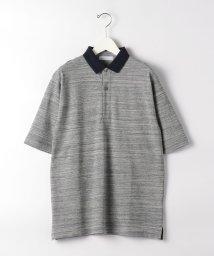 green label relaxing/CSM コンビカラー ポロシャツ 半袖 /503185565