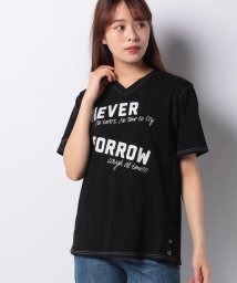 B donna/ロゴプリント Tシャツ/503192285