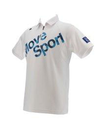 DESCENTE GOLF/【BLUE LABEL】【CoolistD-Tec】【MOTION3D】ポイントメッシュロゴプリントシャツ(20SS)/503192443