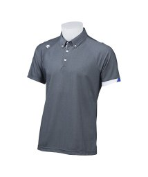 DESCENTE GOLF/【BLUE LABEL】【CoolistD-Tec】【MOTION3D】シャンブレーボタンダウンシャツ(20SS)/503192444