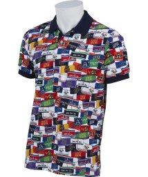 Munsingwear/【COOLIST】ラベルモチーフ総柄プリントシャツ(20SS)/503192474