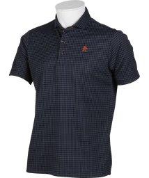 Munsingwear/【SUNSCREEN】【吸汗速乾】ギンガムジャカード半袖シャツ(20SS)/503192475