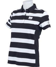 Munsingwear/【ENVOY/エンヴォイ】【吸汗速乾】先染め鹿の子ストレッチボーダー半袖シャツ(20SS)/503192530