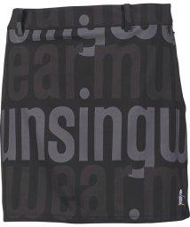 Munsingwear/【ENVOY/エンヴォイ】ストレッチトリコットロゴプリントスカート(38cm丈/インナーパンツ付き)(20SS)/503192531