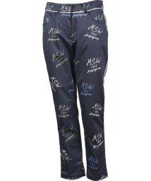 Munsingwear/ロゴプリントサテンストレッチクロップドパンツ(20SS)/503192557