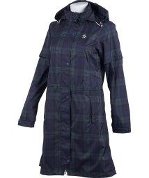 Munsingwear/【はっ水】ツイルプリントレインウェアワンピース (収納袋付き)(20SS)/503192561