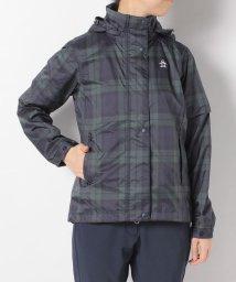 Munsingwear/【はっ水】ツイルプリントレインブルゾン(収納袋付き)(20SS)/503192566