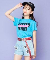 SISTER JENNI/ステッカー風ロゴネーム付半袖Tシャツ/503197645