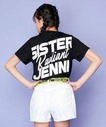 SISTER JENNI/バック斜めBIGロゴネーム付半袖T/503197647