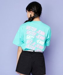 SISTER JENNI/バック星斜めロゴプリント半袖Tシャツ/503197651