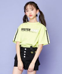 SISTER JENNI/袖ラインプリント半袖Tシャツ/503197652