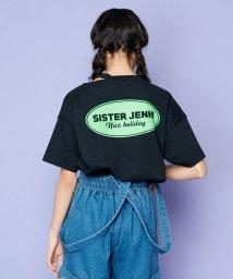SISTER JENNI/オープンネックサークルロゴ半袖T/503197653