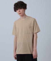 tk.TAKEO KIKUCHI/ボタニカルポケットTシャツ/503198269