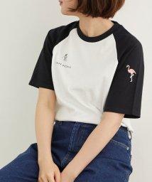 ROPE' PICNIC/ラグラン配色Tシャツ/503198831