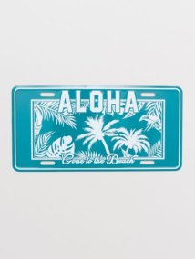 KAHIKO/【Kahiko】ALOHA カーナンバープレートオーナメント 45NP0201/503199004